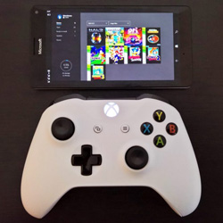 Jocurile Xbox One streaming pe Windows 10 mobile