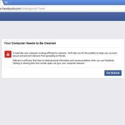 Un nou Malware Facebook își face apariția