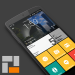 SquareHome 2 – stilul Windows 10 pe dispozitive Android