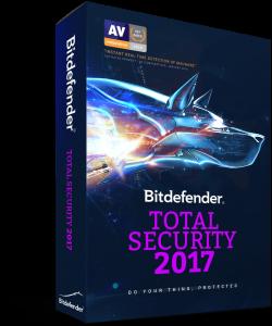 BitDefender Total Security 2017 – trial de 90 de zile