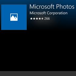Aplicația de fotografii de pe Windows 10 Mobile a primit o actualizare minoră