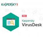 Kaspersky VirusDesk – scanner online de fișiere și link-uri