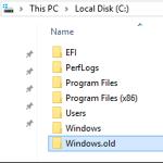Tutorial – Ce este dosarul Windows.old şi cum îl ştergem