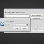 Tutorial – Cum putem emula driverul pentru LAN sau W-LAN în Linux Mint